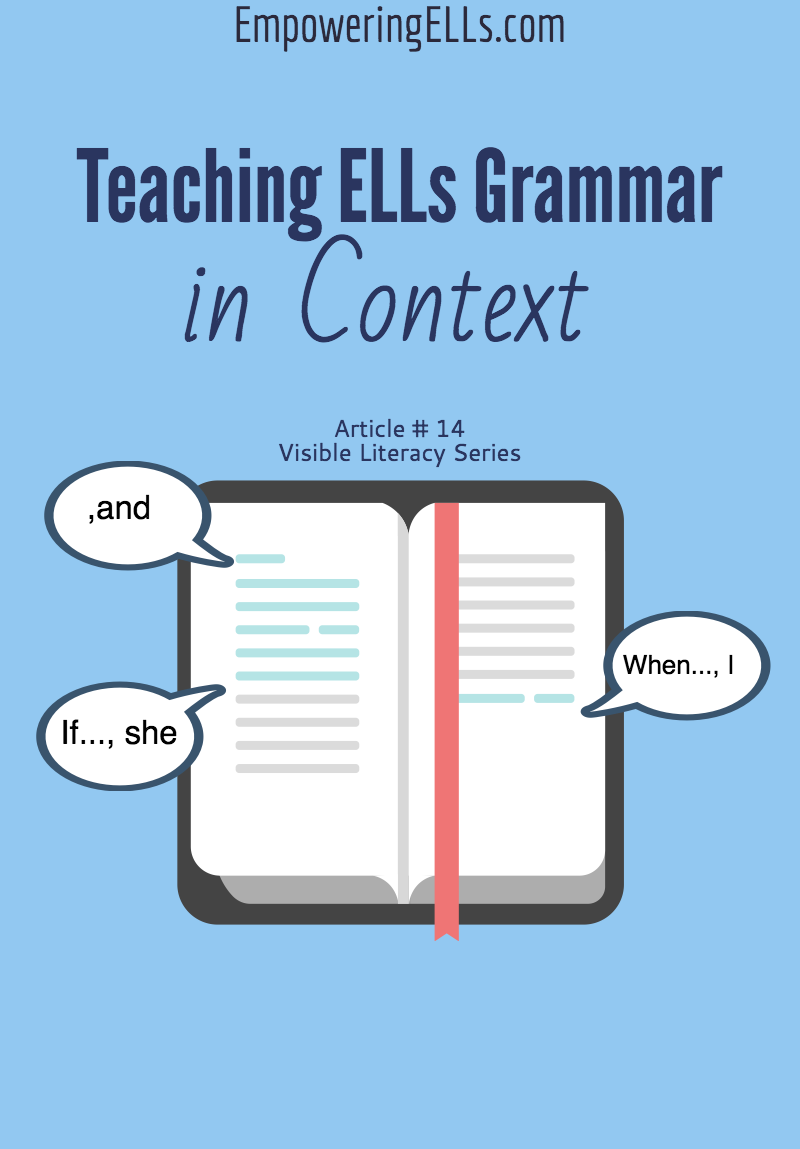 teaching grammar in context How to make grammar meaningful for your esl students here are three main ideas to keep in mind while creating grammar lessons contextualizewe all know that grammar should never be taught in isolation by teaching your students grammar in context, they will understand its usage better each of the four sources.